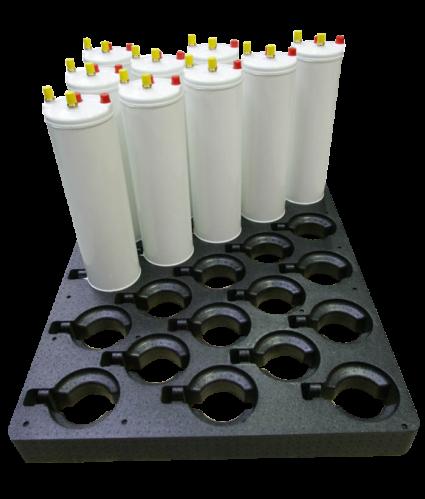 HSV the particle foam engineers. Szybki montaż dzięki solidnym i lekkim konstrukcjom z pianek.